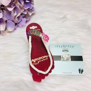 Jewelry - Feet Jewelry ankle bracelet & toe ring